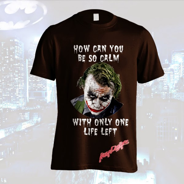 T-Shirt Joker How Can You Be So Calm