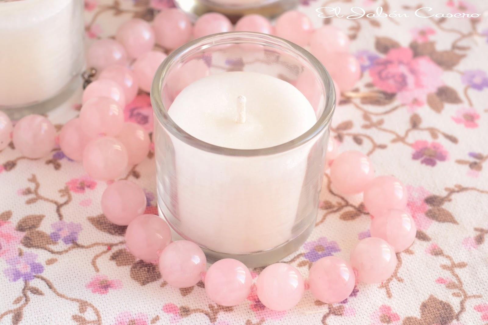 Detalles de boda velas personalizadas