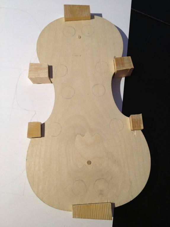 Violin mould