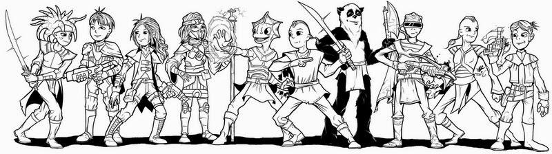 Hero Kids line-up