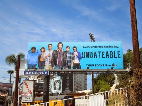 Undateable series premiere billboard