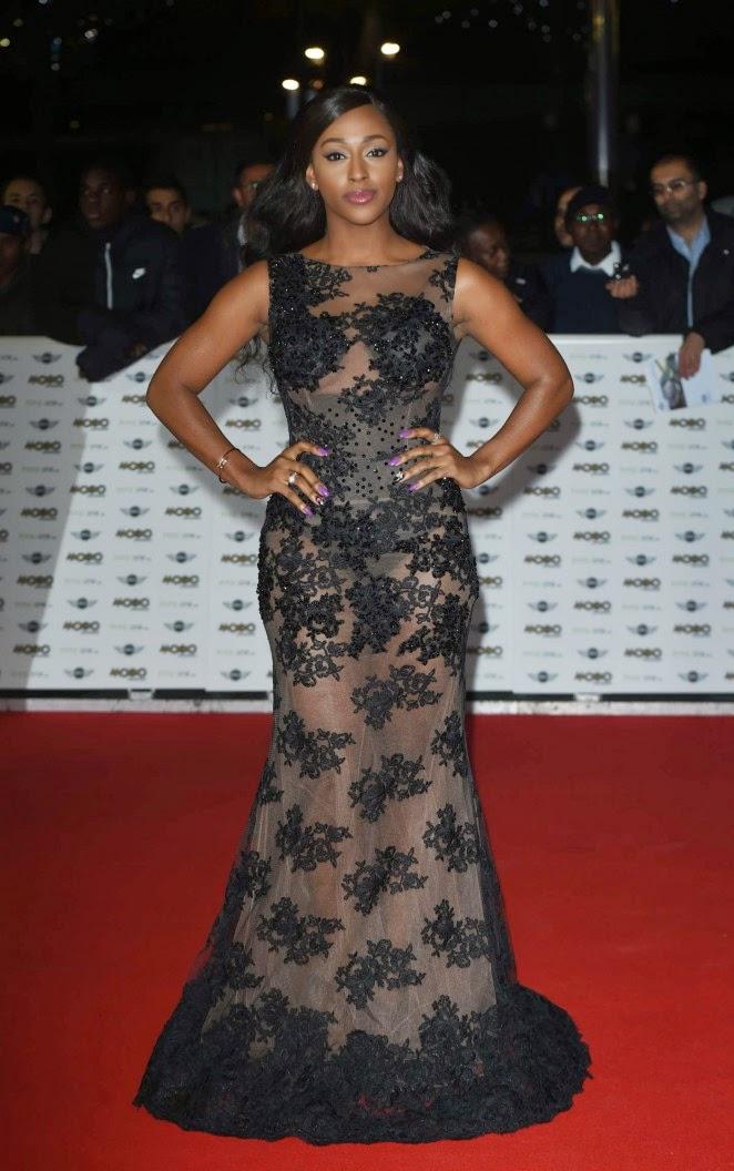 Alexandra Burke – MOBO Awards in London