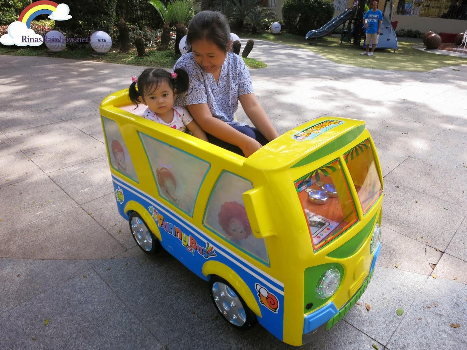ATC mechanical bus ride for kids