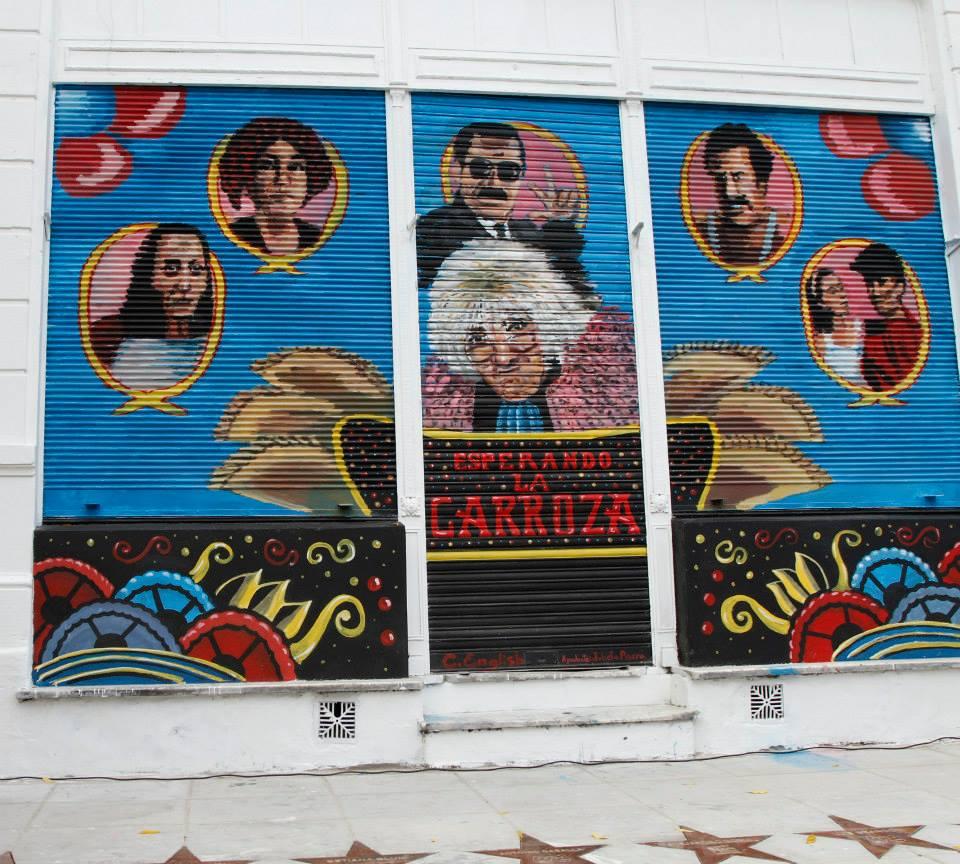 Esperando la Carroza, mural en Villa Crespo