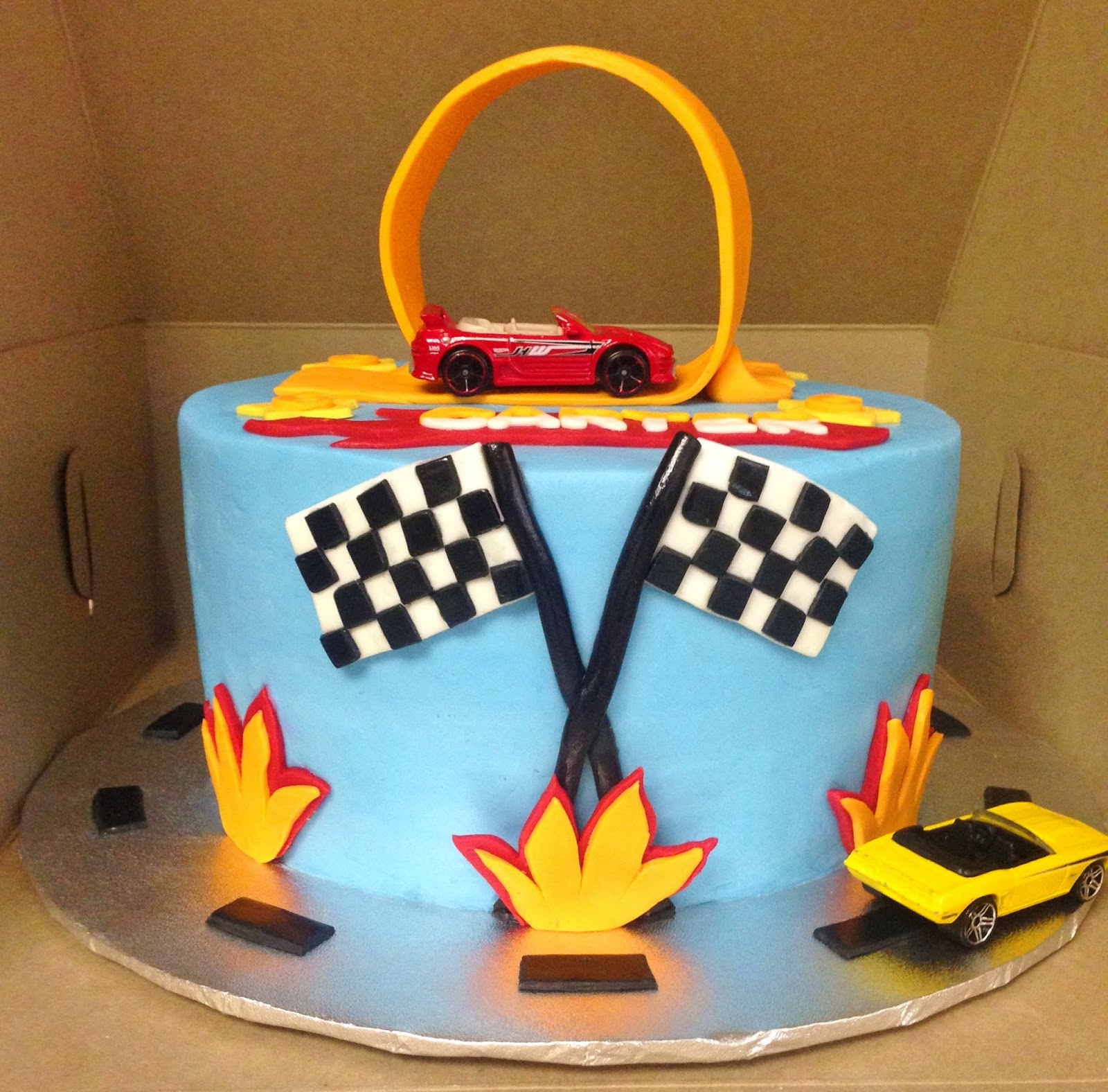 Cakes By Mindy Hot Wheels Cake 8 Quot