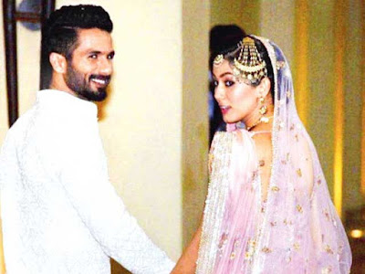 Shahid & Mira Rajput Kapoor's Reception Photo