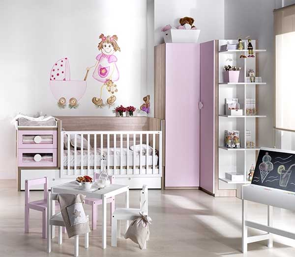 Cuartos de beb s ni as imagui - Habitaciones bebe modernas ...