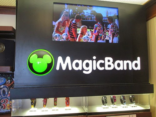 Exhibidor de MagicBands
