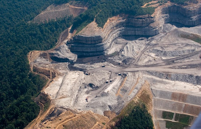 mountaintop-removal coal mining