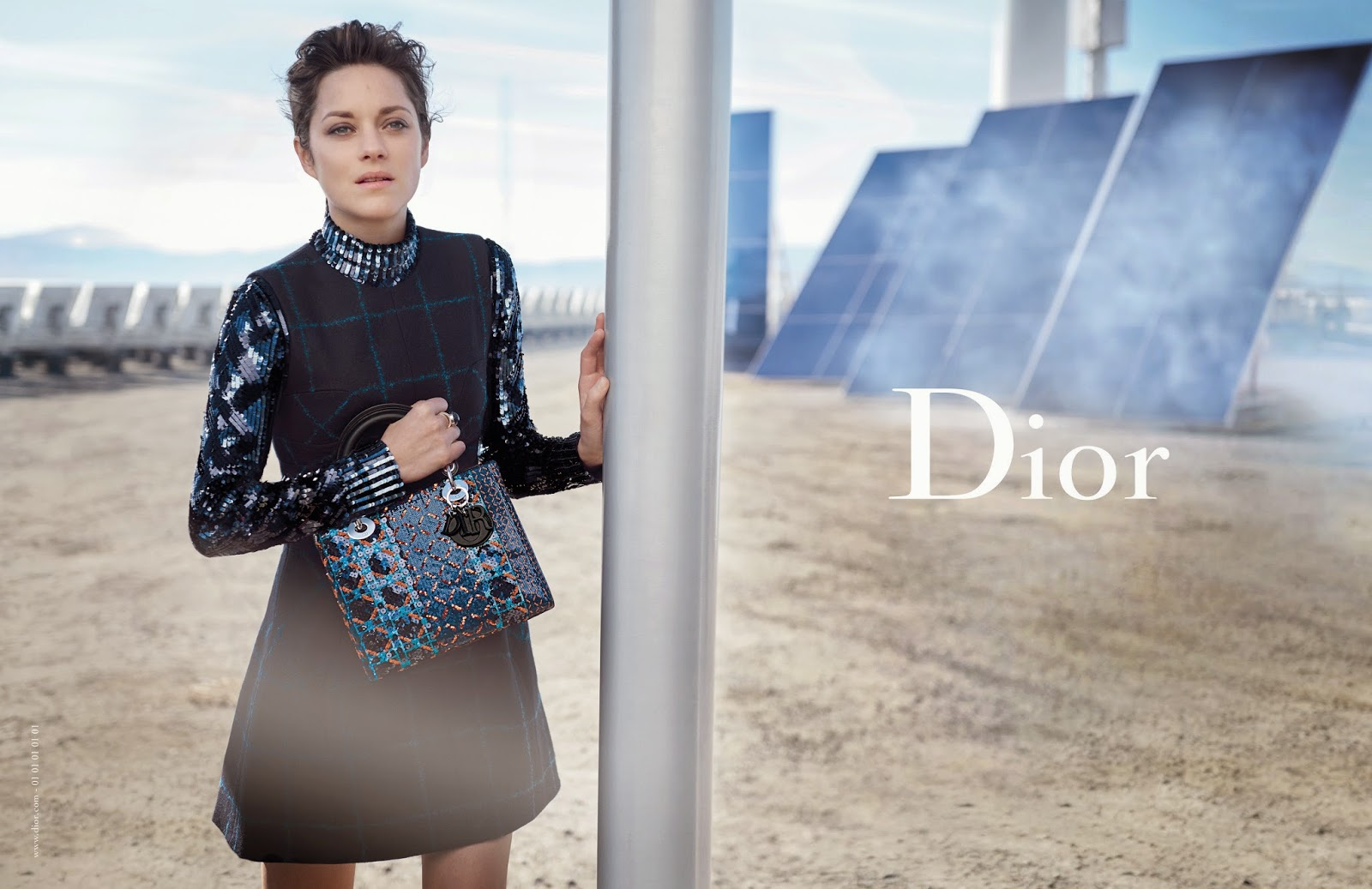 Marion Cotillard's Latest Lady Dior Ad Campaign
