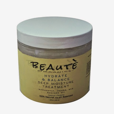 Beautè Organics Hydrate & Balance Deep Moisture Treatment