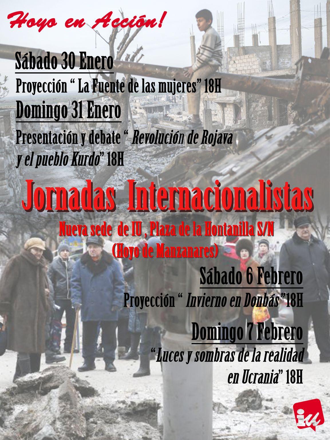 JORNADAS INTERNACIONALISTAS HOYO DE MANZANARES