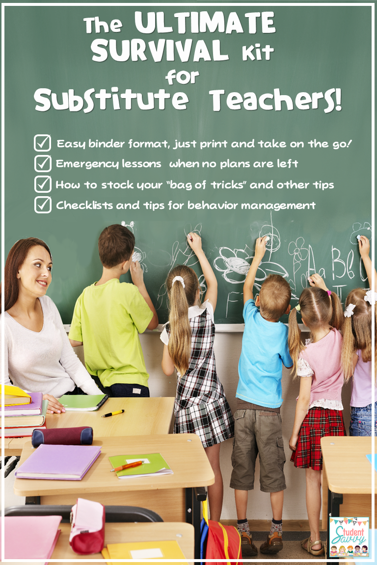 Substitute Survival Guide!