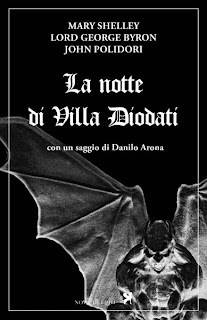La notte di Villa Diodati, 2011, copertina