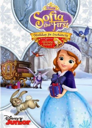 Sofia the First   Holiday in Encancia Cover Sofia The First: Holiday in Enchancia [2014] [DVD5] [Latino]
