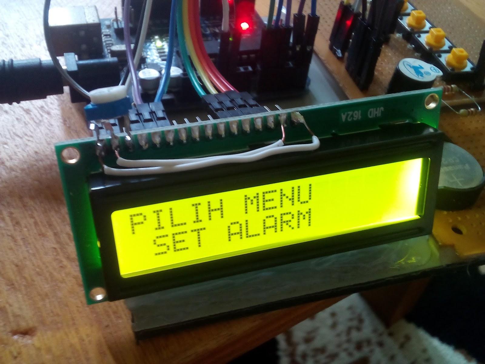 Membuat JAM DIGITAL dilengkapi SET ALARM dan STOPWATCH menggunakan ... 641e04b957