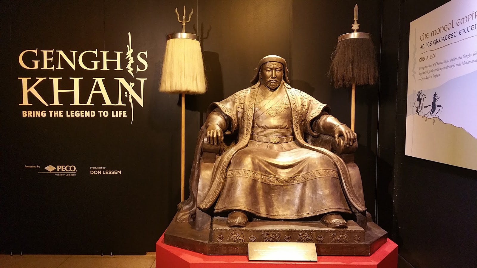 Image result for GENGHIS KHAN: THE EXHIBITION