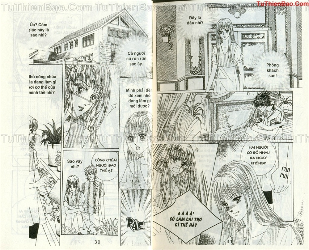 Ma cà rồng hộ mệnh Chapter 10 - Trang 14