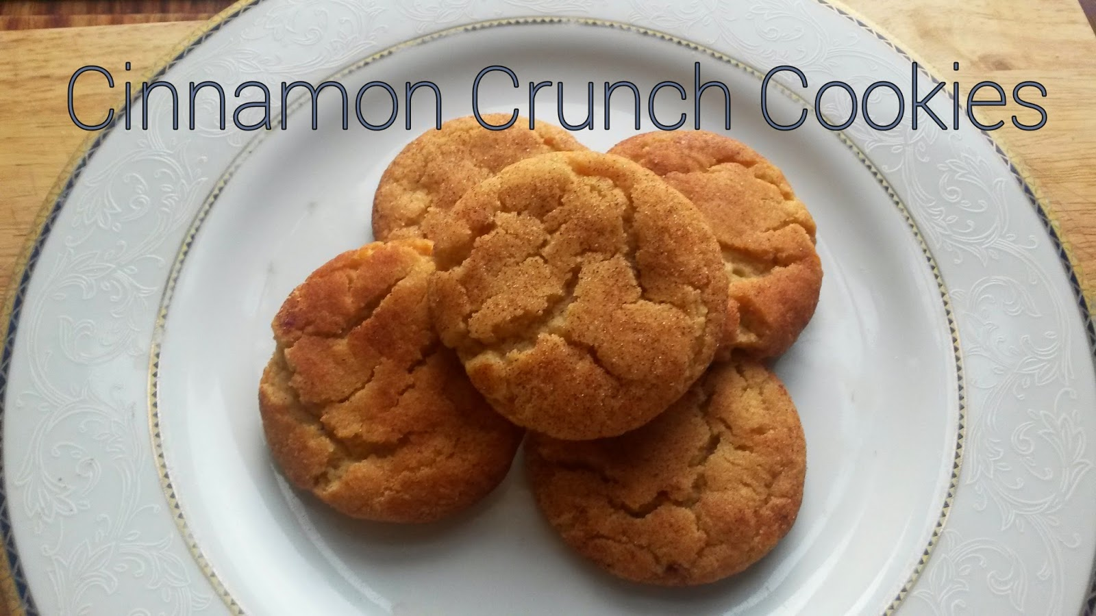 Cinnamon Crunch Cookies @MrsUMakes