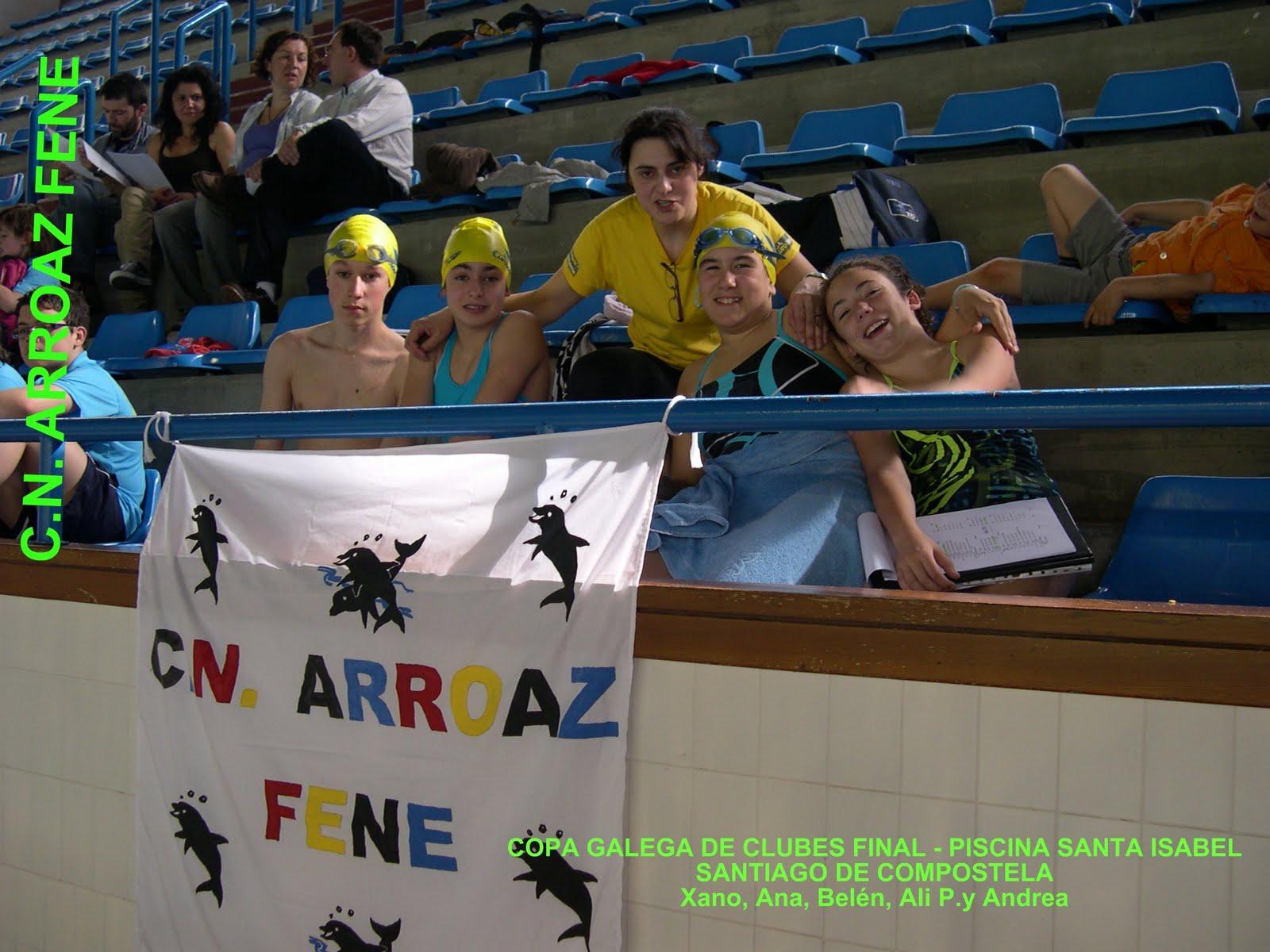 Club nataci n arroaz fene mayo 2011 - Piscina santiago de compostela ...