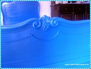 como pintar cama provençal antiga tinta spray