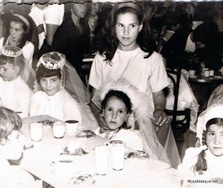 primera comunión en candelario salamanca en 1964