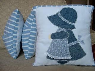 Napkalapos Zsuzsi patchwork párna