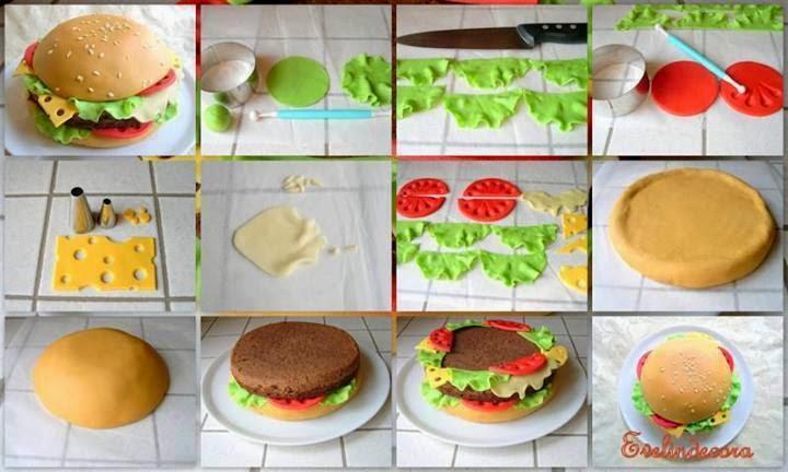 Как приготовить своими руками чизбургер