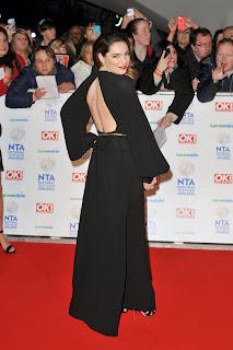 Event Photoshoot : Kelly Brook Photoshot For National Television Awards London 2014