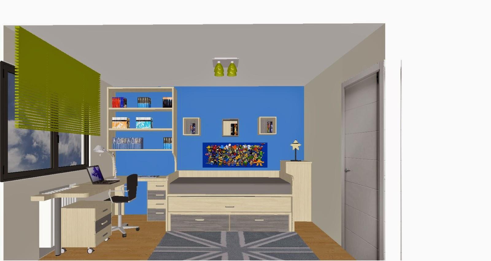 imagenes de muebles juveniles - DORMITORIOS decorar dormitorios fotos de habitaciones