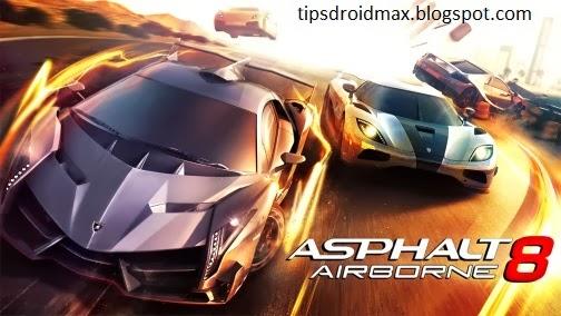 Asphalt 8 Airborne MOD For Android