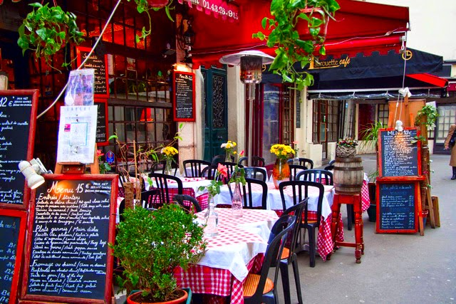 Кафе и рестораны Парижа