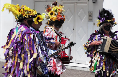Morris dancers Devon