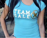 Hunger Games tee shirt Team Gale