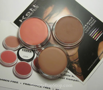 Kett FIXX Creme Blush Swatches