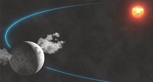 Descoberta água no planeta anão Ceres