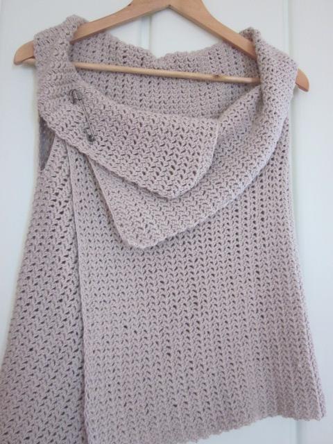 Knitting Vest Pattern : Loved handmade the vest