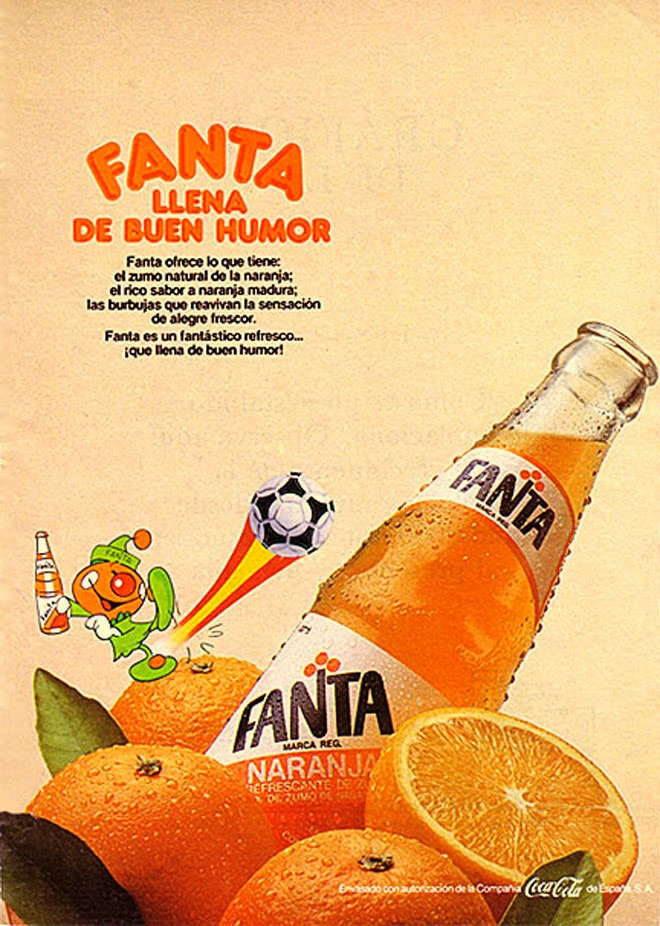Fanta Publicidad creativa de los años 80