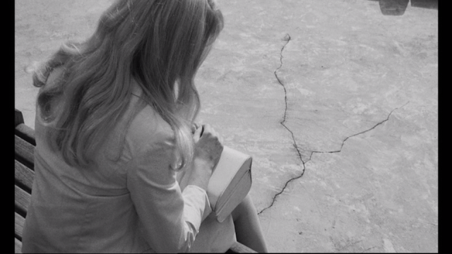 Repulsion Carol Catherine Deneuve sidewalk crack