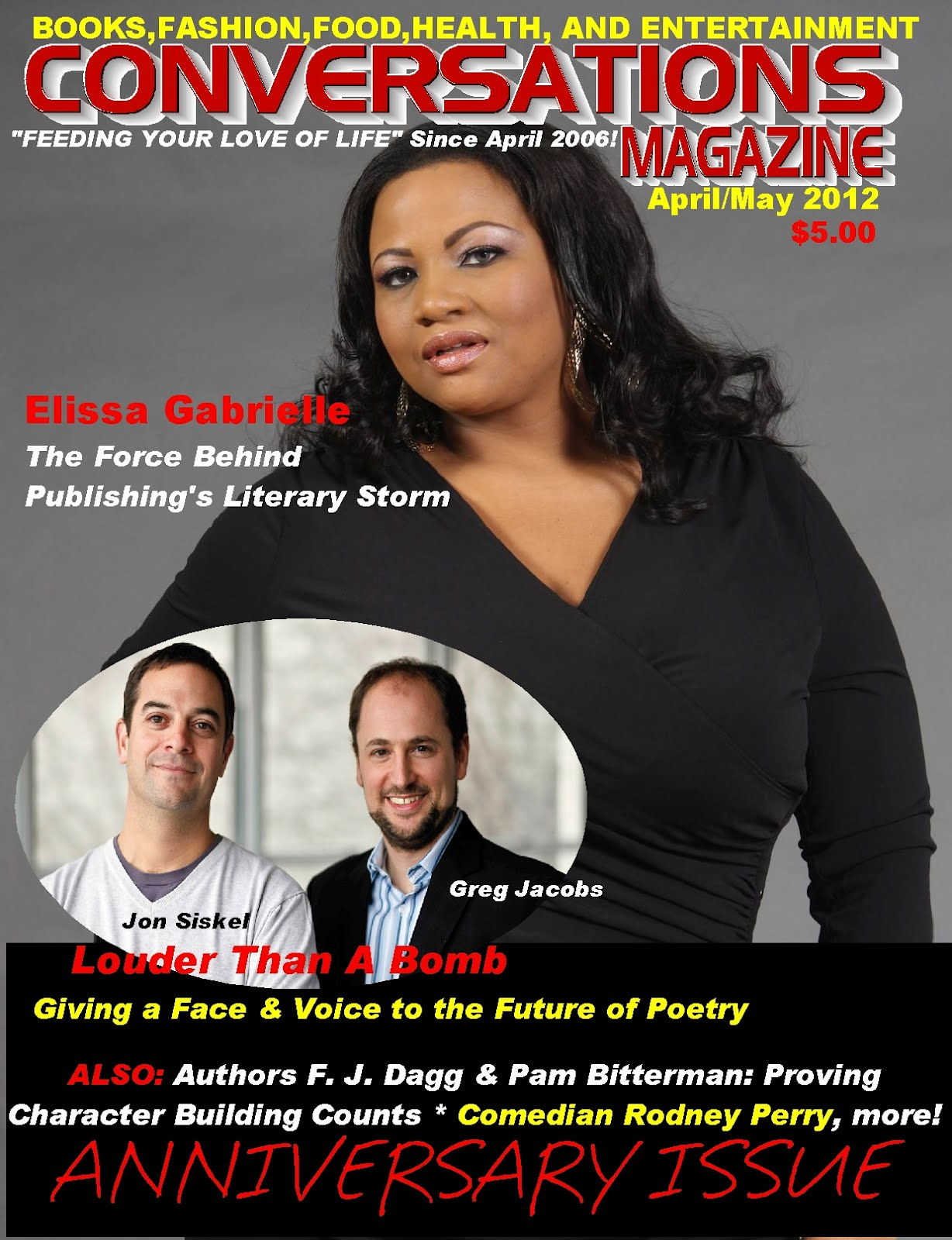 Order The Conversations Magazine&#39;s April/May 2012 Anniversary Issue NOW!