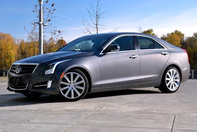 2013 Cadillac ATS review front angle