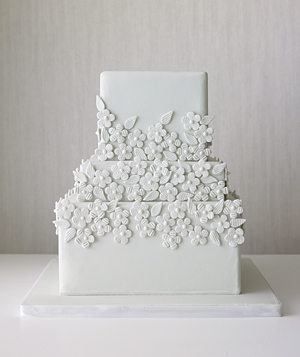 simple wedding cake designs