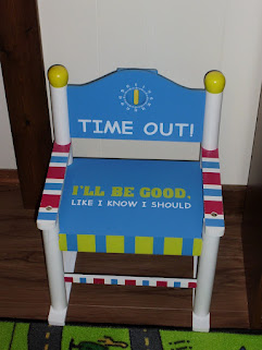 """Time Out"" Chair  -  So Cute!"