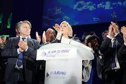 ✓ Marine Le Pen: Car le grand enjeu de cette élection est la mondialisation sauvage