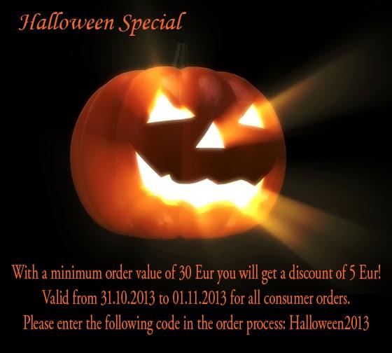 ChriMaLuxe Minerals - Promozione di Halloween 2013