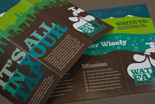 25 awesome brochure design ideas jayce o yesta for Graphic design brochure
