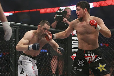 Nick Diaz : Technician of Unarmed Swordfighting