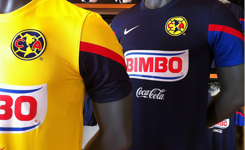 Nueva camiseta de local y vistando del america 2012 y 2013