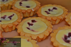 Mini Blueberry Cheese Tarts
