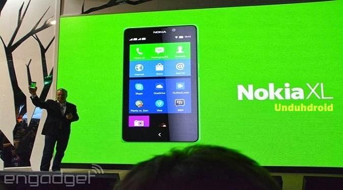 Nokia XL, Smartphone Android Nokia Murah terbaru 2014